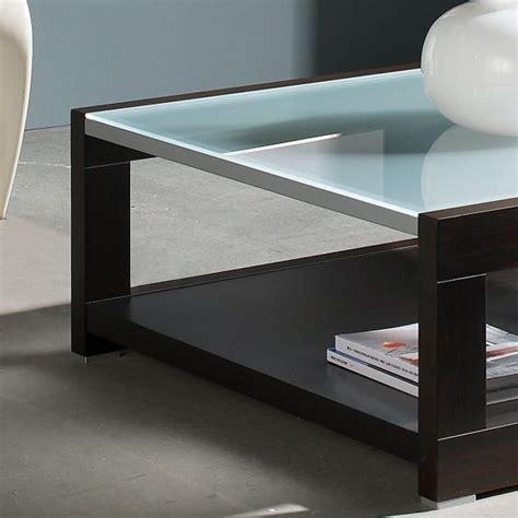 cadeau original cuisine table basse carrée bois et verre mobilier