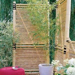 sichtschutz fur garten und balkon so geht39s living at With französischer balkon mit bambus im garten