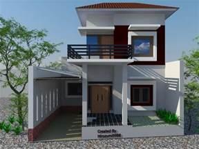 Harmonious Low Budget Minimalist House Architecture by Desain Rumah Minimalis Modern 2 Lantai 2014 Desain Rumah