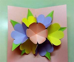 Pop Up Mother's Day Card · How To Make A Pop Up Card ...