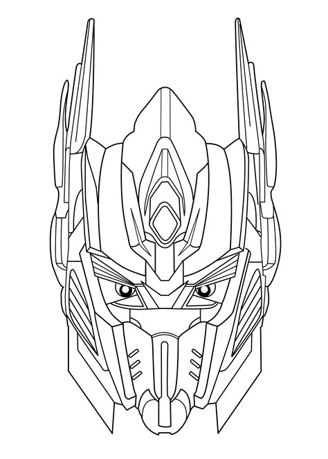 transformer coloring page transformers coloring pages for free printable
