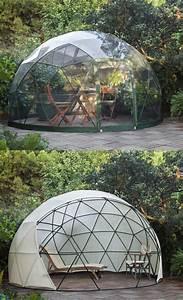news lapaddcom With tonnelle en bois pour jardin 1 jardin dhiver auvent dete serre geodesique garden