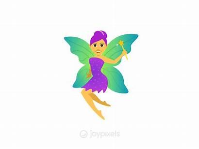 Fairy Animation Woman Emoji Version Joypixels Dribbble