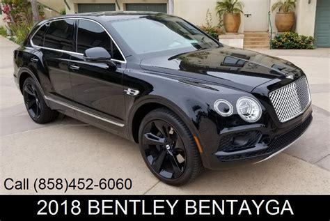 Bentley Bentayga Photo by 2018 Used Bentley Bentayga Onyx Edition Awd At Sports Car