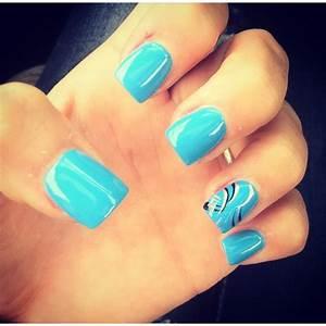 Something simple. Acrylic nails | Acrylic nail ideas ...