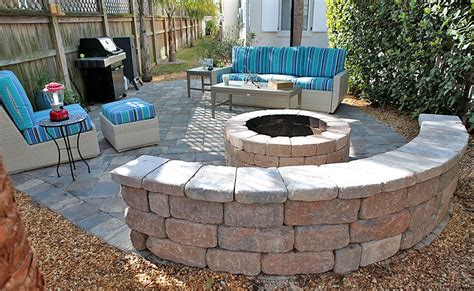 santa fe pit introducing pavers mega olde towne sierra seating wall stonegate santa fe fire pit munich