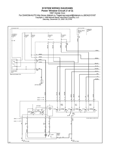 Window Wiring Need Help Please Honda Tech