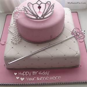 Birthday Cake for Girl Princess With Name