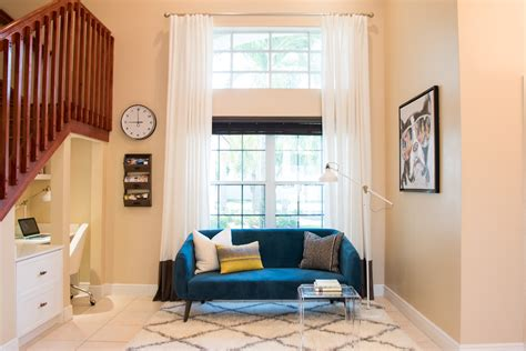 modern blue sofa  living room decoration
