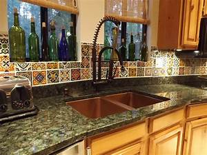 Dusty coyote mexican tile kitchen backsplash diy for Mexican tile backsplash kitchen