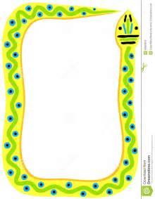 Snake Border Frame