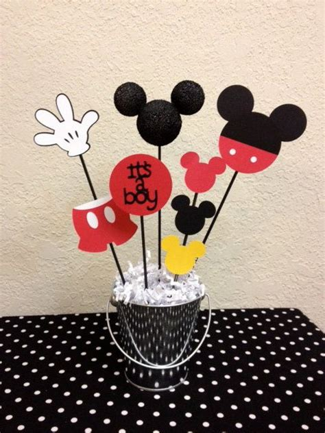 mickey mouse baby shower best 25 mickey mouse centerpiece ideas on