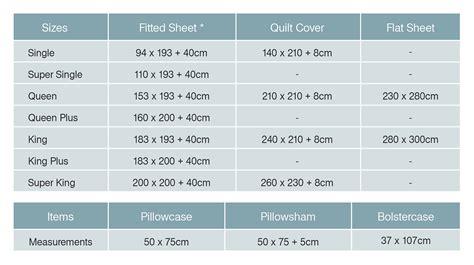 size blanket dimensions in cm bed sheet bedding sizes measurements bedorigin com sg