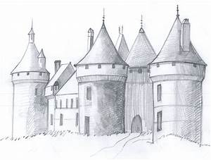 Draw a Medieval Castle | Medieval, Castles and Witches