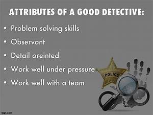 Police Detective by wikiwiki1985