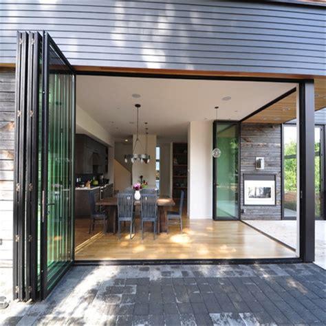 aluminum folding doorglass folding doorstacking sliding