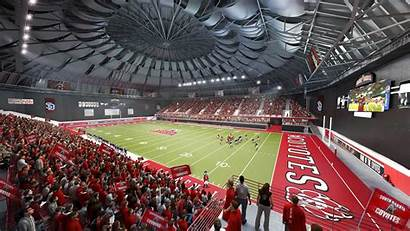 Usd Dakotadome Projects Dakota South Vermillion Stadium