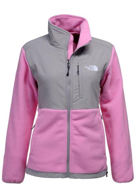 The North Face Womens Denali Fleece Jacket Light Pink