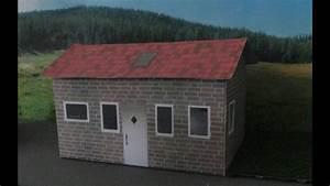 Haus Selbst Bauen : eigenes haus als papier haus basteln modellbau geb ude selber bauen diy bastelanleitung ~ A.2002-acura-tl-radio.info Haus und Dekorationen