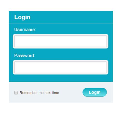 simple login page html create simple login page in html using css