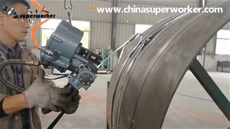 semi automatic steel strapping machine  steel coil bundling youtube