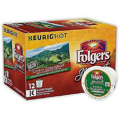 With folgers® coffee pods, there's no measuring and no need for separate filters. Folgers K-Cups Decaf 100 Colombian Coffee for sale online | eBay