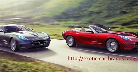 The Gallery For > Exotic Car Brands