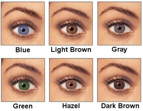 Hair Colors List Pictures by Best Hair Color For Blue Light Brown Green And Hazel