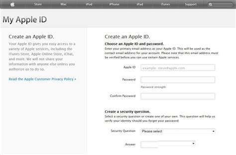 Can Not Create, Register Apple Id, Icloud Or Itunes?