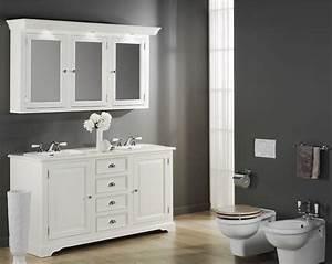 stunning ensemble salle de bain gris gallery design With ensemble meuble lavabo salle de bain