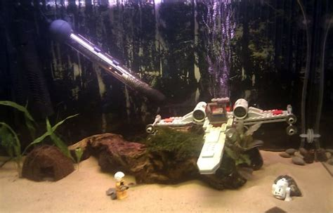 Wars Aquarium Ornaments by 25 Best Ideas About Fish Tank Themes On
