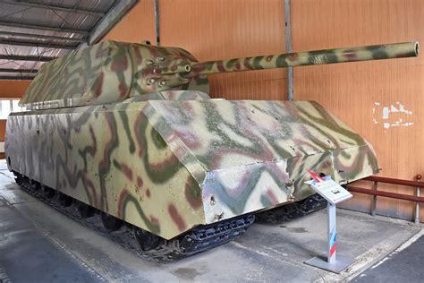 panzer viii maus german ww super heavy tank official