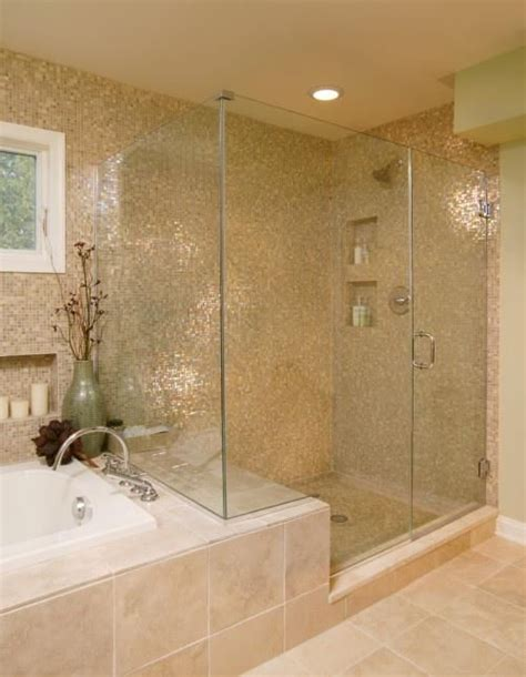 bath extended for seat in shower bathroom ideas