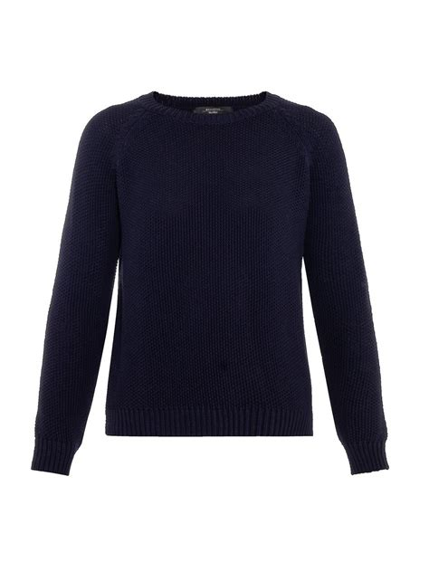 lyst weekend  maxmara apuania sweater  blue