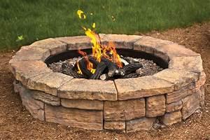Block, Fire, Pit, Advantages, Over, A, Campfire