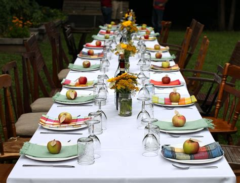 dinner table decorations for dinner parties fall garden party ideas for an elegant gathering to mark