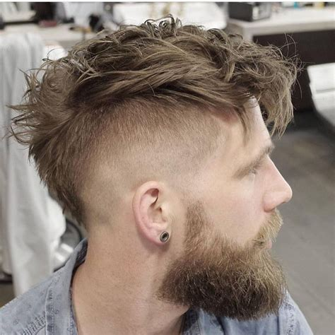 mohawk hairstyles men ideas  pinterest