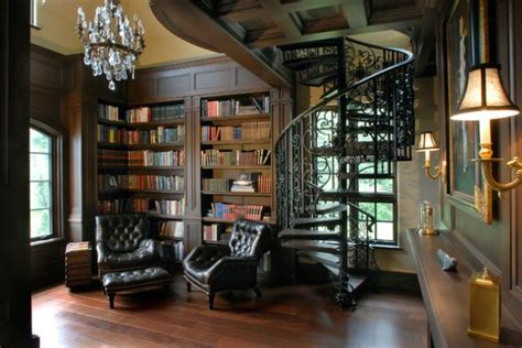 classic home library designs   dream