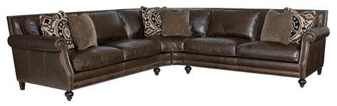 bernhardt brae sectional sofa with five seats belfort
