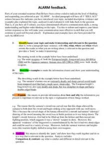 Essay  Extended Response Planning Tips And Scaffold By