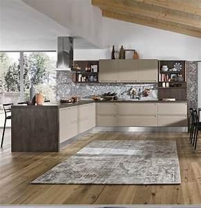 cucina con penisola moderna i integrata essential in offerta outlet nuovimondi Cucine a prezzi