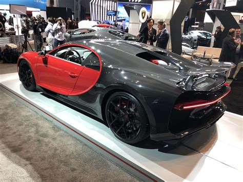 New York Auto Show 2018 by Bugatti Chiron Sport At The 2018 New York International