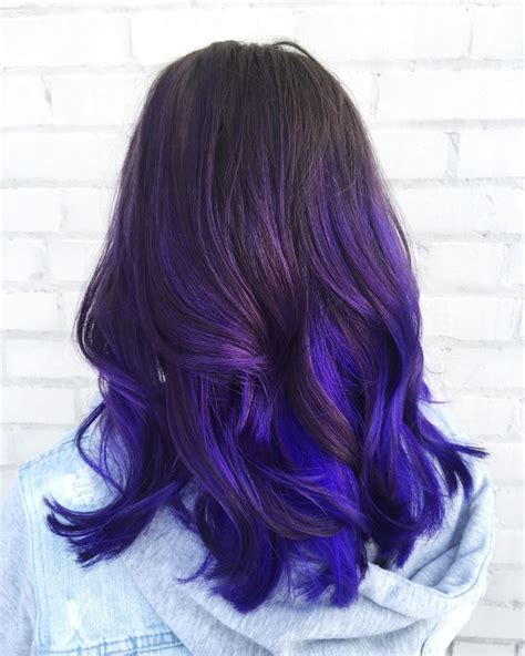 60 Trendy Ombre Hairstyles 2019 Brunette Blue Red