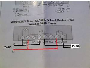 I Am Trying To Follow A Wiring Diagram For  A Pool Pump