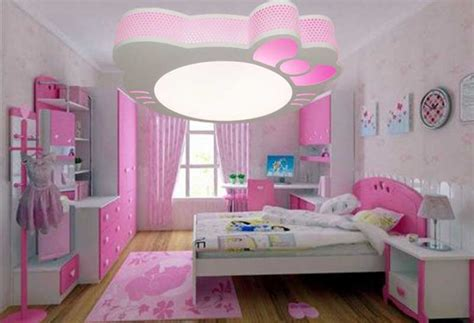 idee deco chambre ado fille plafonnier chambre fille installation avec idée papier