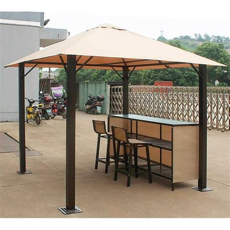 Gazebo Bar Glendale Venice Gazebo Bar Set Gardenstreet