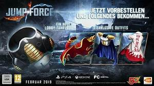 Jump Force Charaktere Trailer Collectors Edition Und