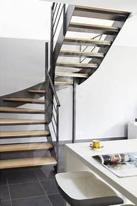 Escalier Metal Et Bois : les 25 meilleures id es concernant escalier en colima on ~ Dailycaller-alerts.com Idées de Décoration