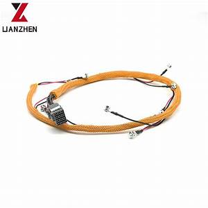 China Excavator Injector Wiring Harness For Cat 320d 323d 305