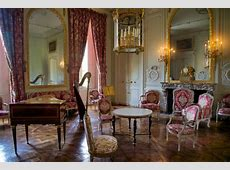 Living Room in Queen's Apartments Petit Trianon Versailles